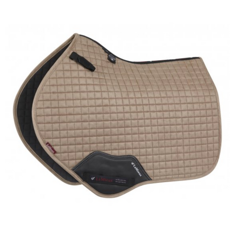 LeMieux ProSport Close Contact Suede Saddle Pad - Mink