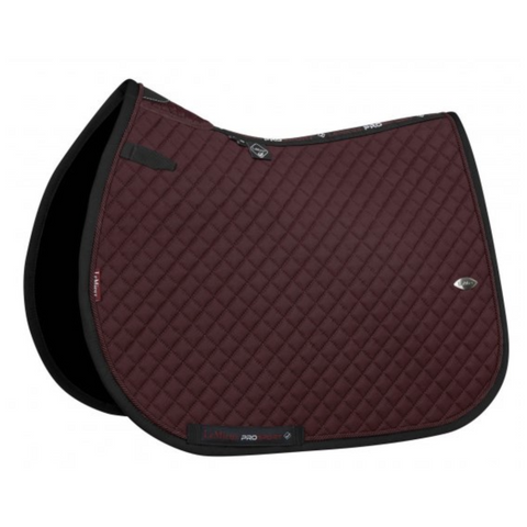 LeMieux Wither Relief Mesh Jumping Pad - Burgundy