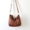 Umbrella Collective Midi Day Purse - Cognac