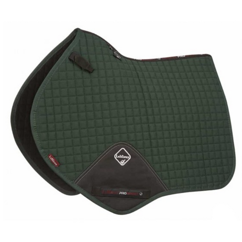 LeMieux ProSport Close Contact Cotton Saddle Pad - Green