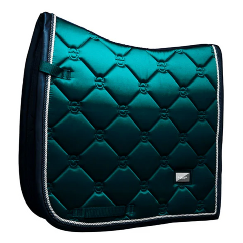 Equestrian Stockholm Dressage Saddle Pad Emerald