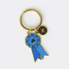 Winner Blue Ribbon Keychain