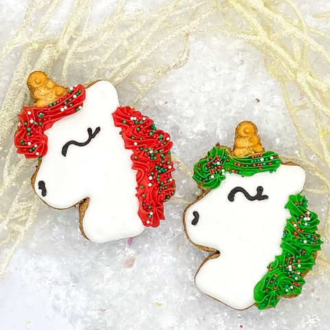Christmas Unicorns Cookie Pack