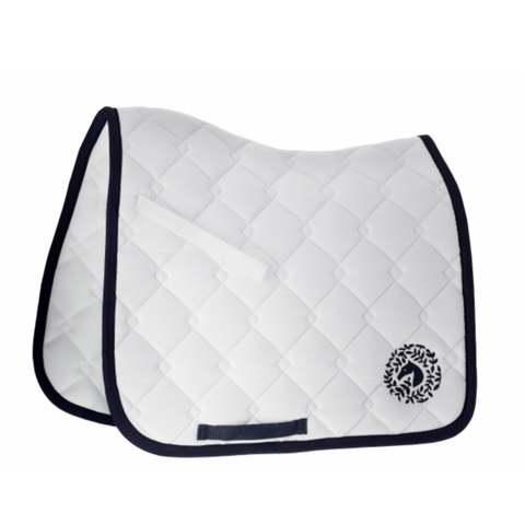Jacson Sydney Dressage Saddle Pad - White