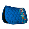 Dotibel Royal Blue Red Flowers Jump Pad