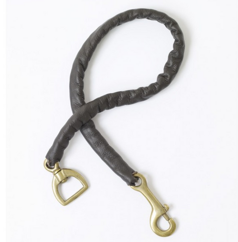 Centaur® Leather Covered Stud Chain- 30in