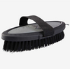 Maddox Leather Handle Body Brush