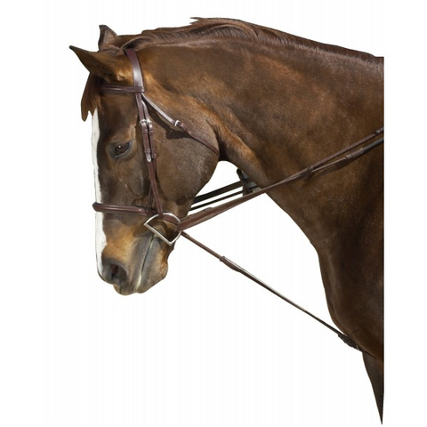 Ovation Cord Leather Draw Reins