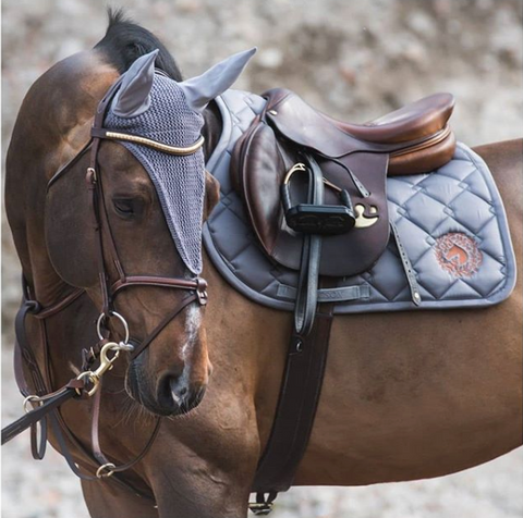 Sydney Jumper Saddle Pad - Grey