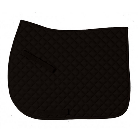 Centaur Everday Jump Saddle Pad - Black/Black