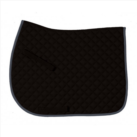 Centaur Everday Jump Saddle Pad - Black/Grey
