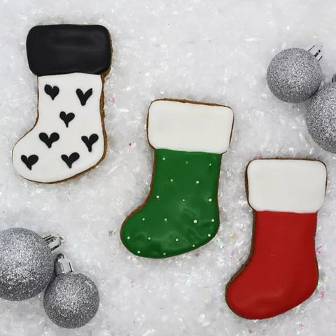 Christmas Stockings Cookie Pack