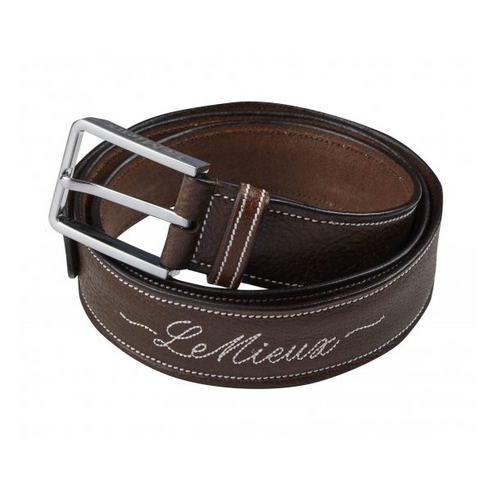 LeMieux Signature Leather Brown Belt