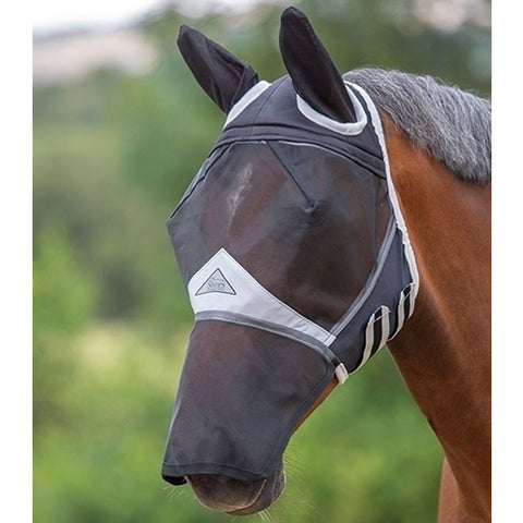 Fine Mesh Fly Mask with Ears & Nose