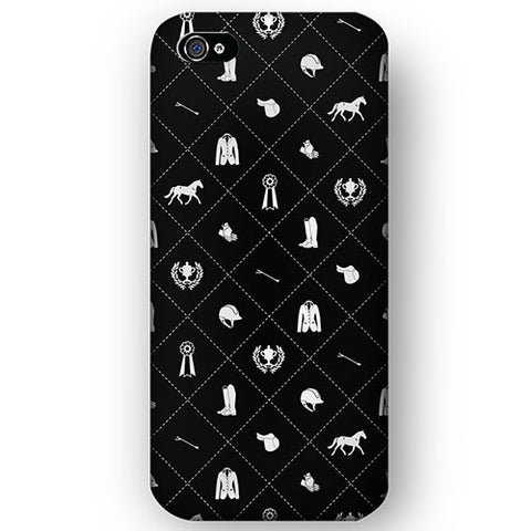 Spiced Equestrian Phone Case - Circuit Onyx