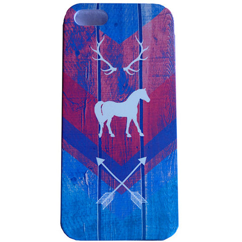 Spiced Equestrian Phone Case- Woodland Pink