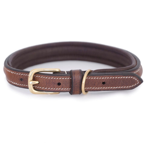 Arezzo Leather Dog Collar