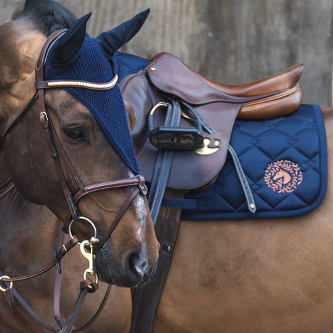 Sydney Jumper Saddle Pad - Navy