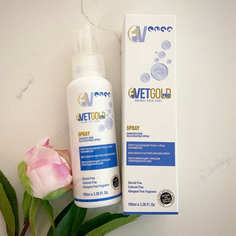 VetGold Pro spray for Damaged, Dry and Irritated Skin