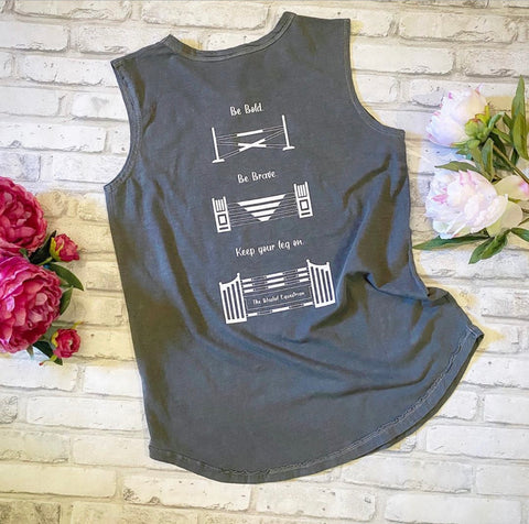 Be Bold Blissful Sleeveless Tee