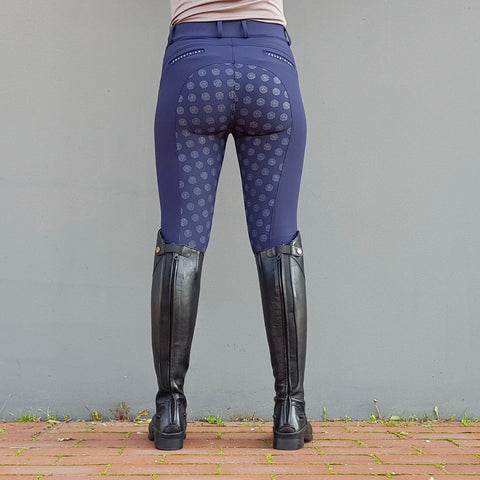 Jacson Hedvig Full Seat Breech - Navy