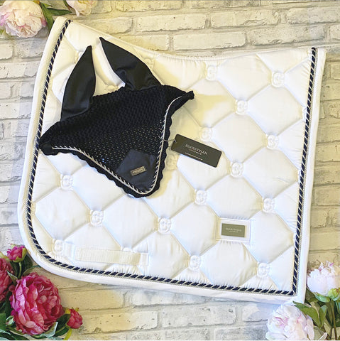 Equestrian Stockholm White Perfection Dressage Pad