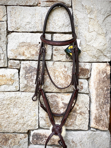 Ovation Elite Fancy Stitch Figure 8 Bridle