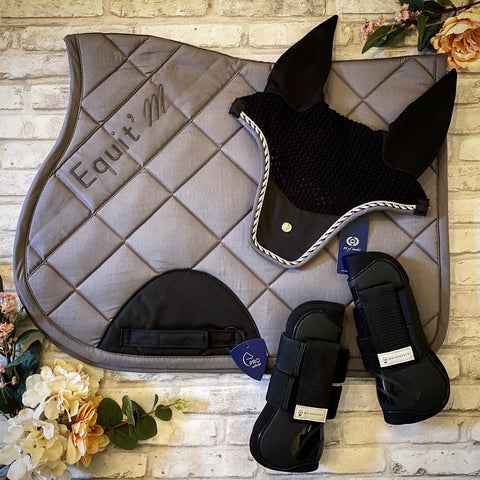 Equitheme Pro Saddle Pad - Grey