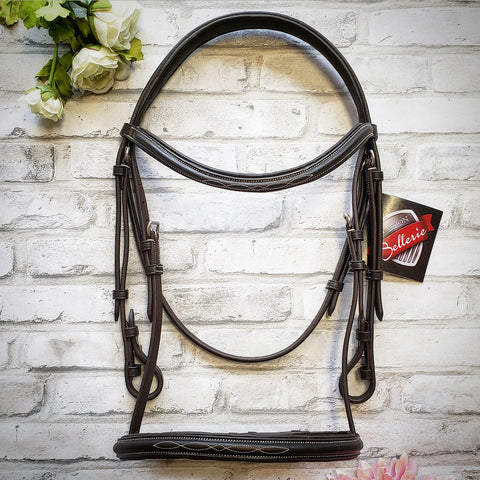 Ovation Soft Flex Fancy Raised Bridle