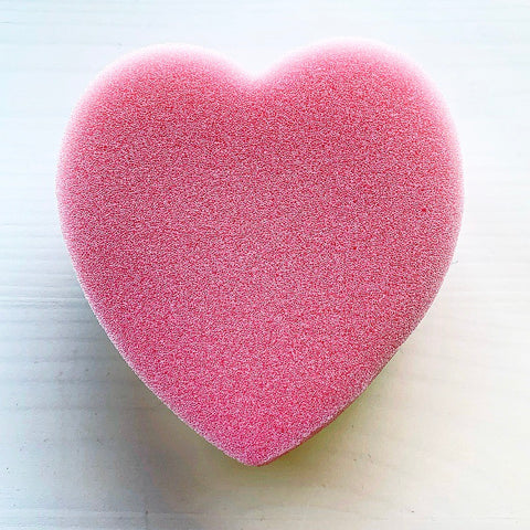 Heart Shaped Sponge