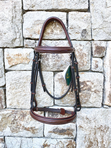 HDR Anatomical Fancy Stitch Padded Bridle