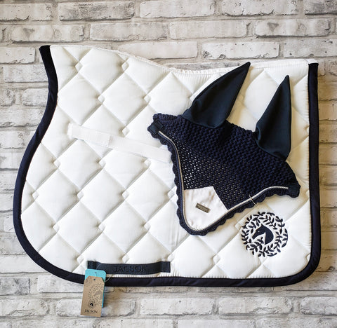 Jacson Sydney Jumper Saddle Pad - White