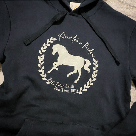 Blissful Amateur Rider Hoodie
