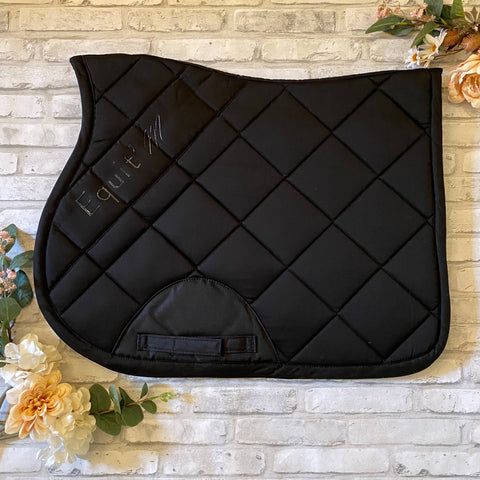 Equitheme Pro Saddle Pad - Black