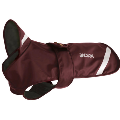 Pippi Dog Coat -  Burgundy