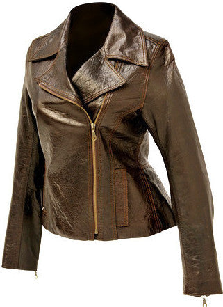 Asymmetrical Biker Jacket