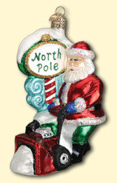 Snowblower Santa