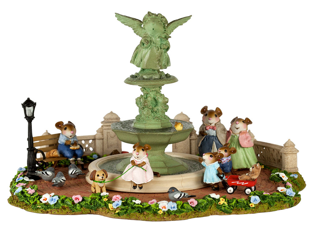 Wee Forest Folk - Young Annette in Central Park - LIMITED to 350