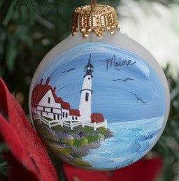 Terry's Handpainted Orb Ornaments
