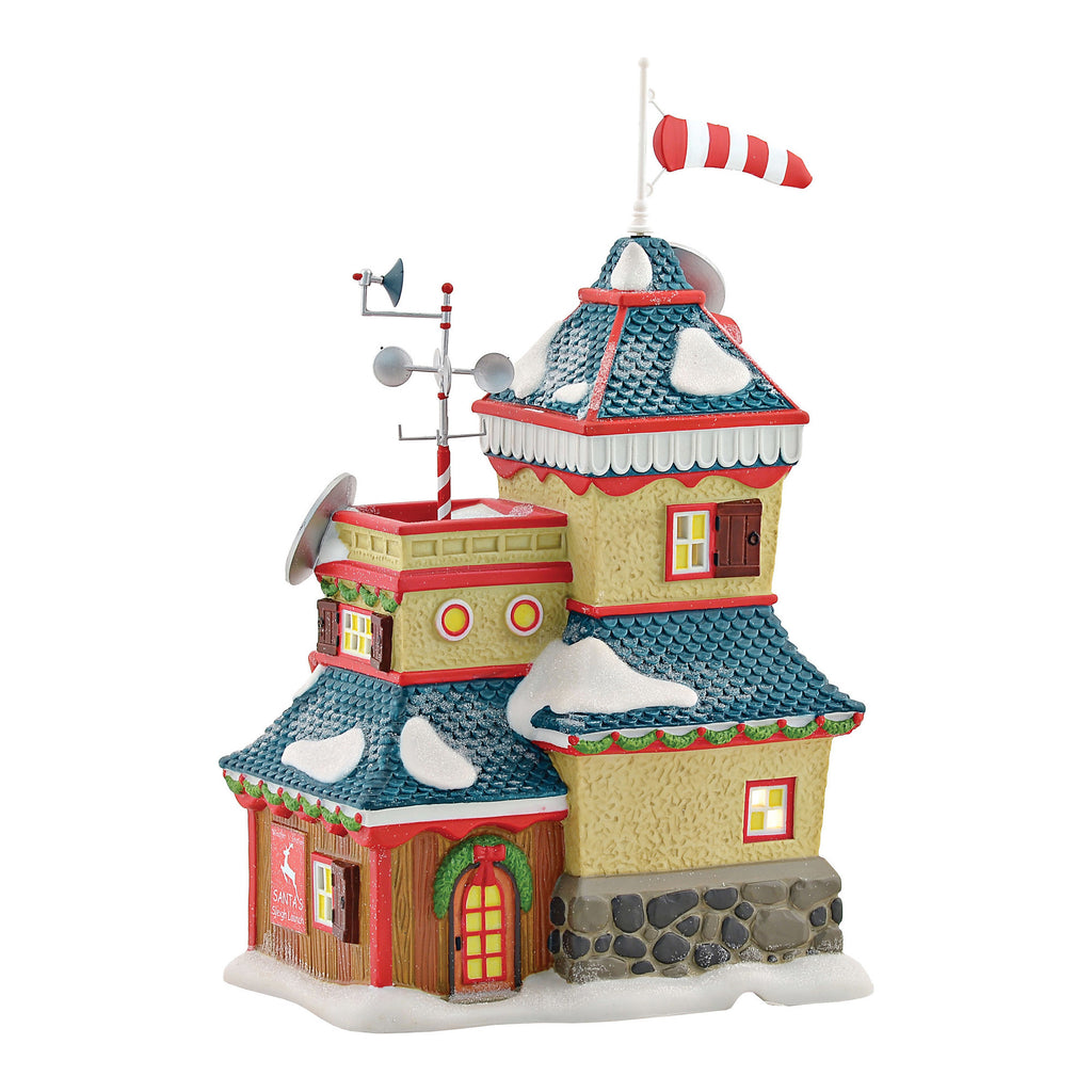 North Pole Series - North Pole Weather Station - Department 56 ...