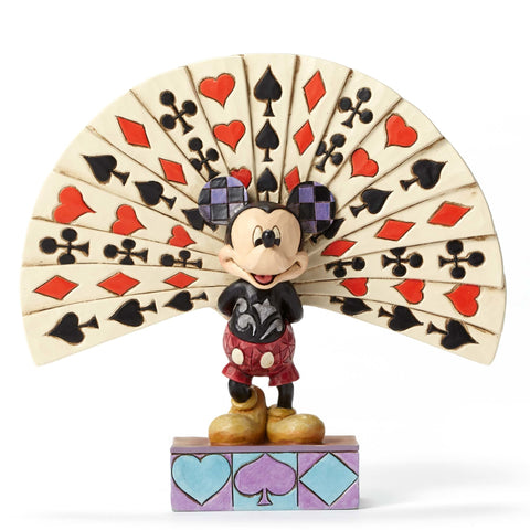 Mickey with Cards