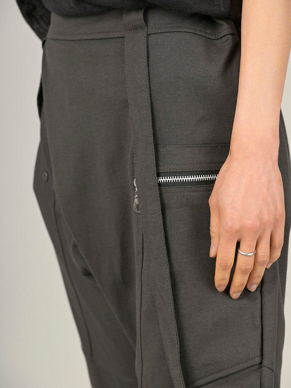 Asymmetric Cotton Trousers - Forgotten Tribes