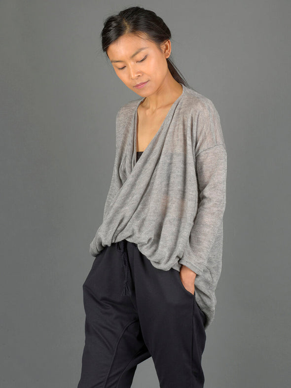 Twist Front Knitted Top - Forgotten Tribes