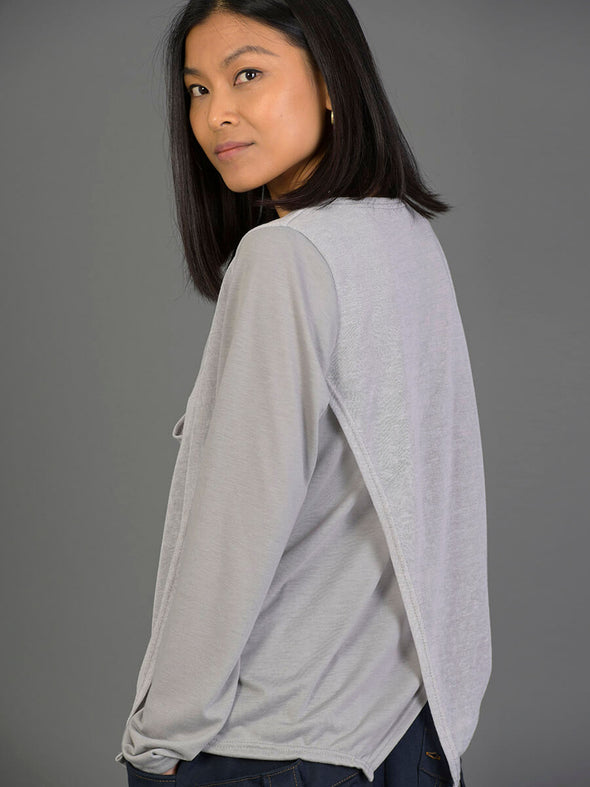 Double Layered Top with Neck Detail - Forgotten Tribes