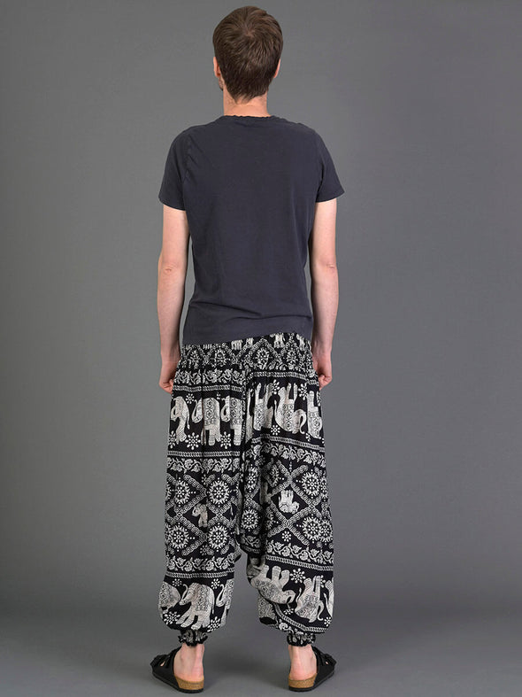 Elephant Harem Pants for Men - Low Crotch - Forgotten Tribes