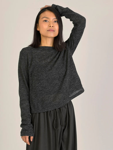 Long Sleeve Cropped Top - Forgotten Tribes