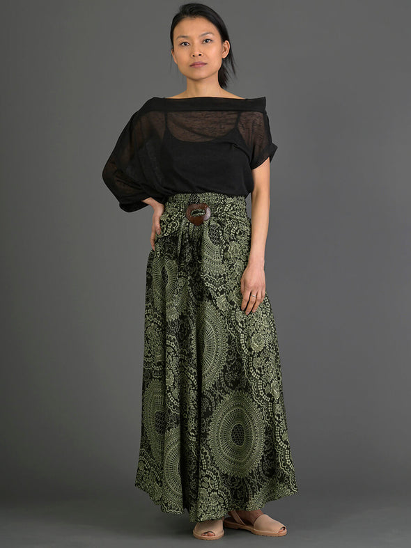 Mandala Pattern Skirt - Forgotten Tribes
