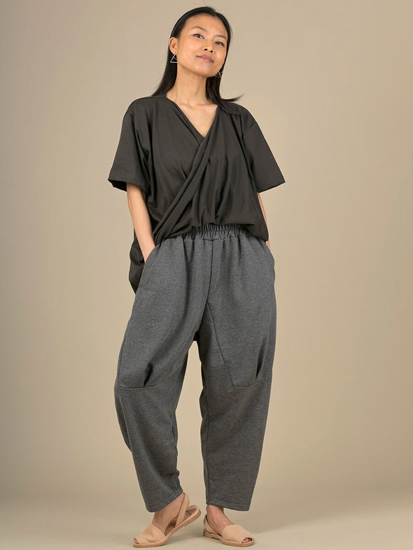 Oversized Barrel Leg Trousers - Forgotten Tribes