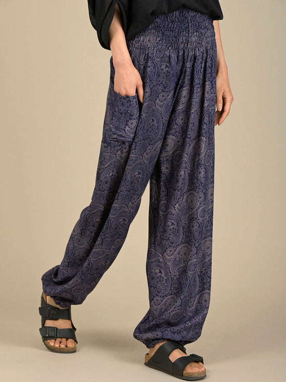 Paisley Harem Pants - High Crotch - Forgotten Tribes