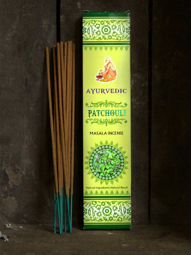 Patchouli Masala Natural Incense - Forgotten Tribes